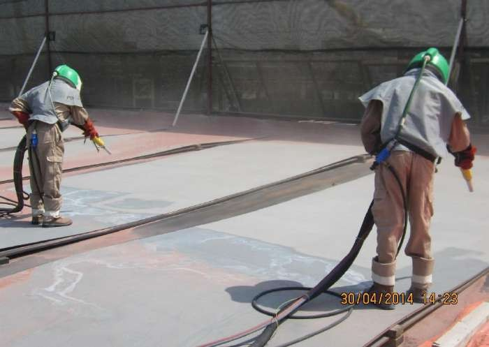 Anti-corrosion Coating Works (Blasting & Painting) – OilTech